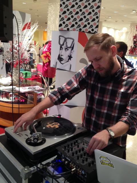 DJ for #Holiday24 at Neiman Marcus in Fort Worth, TX
