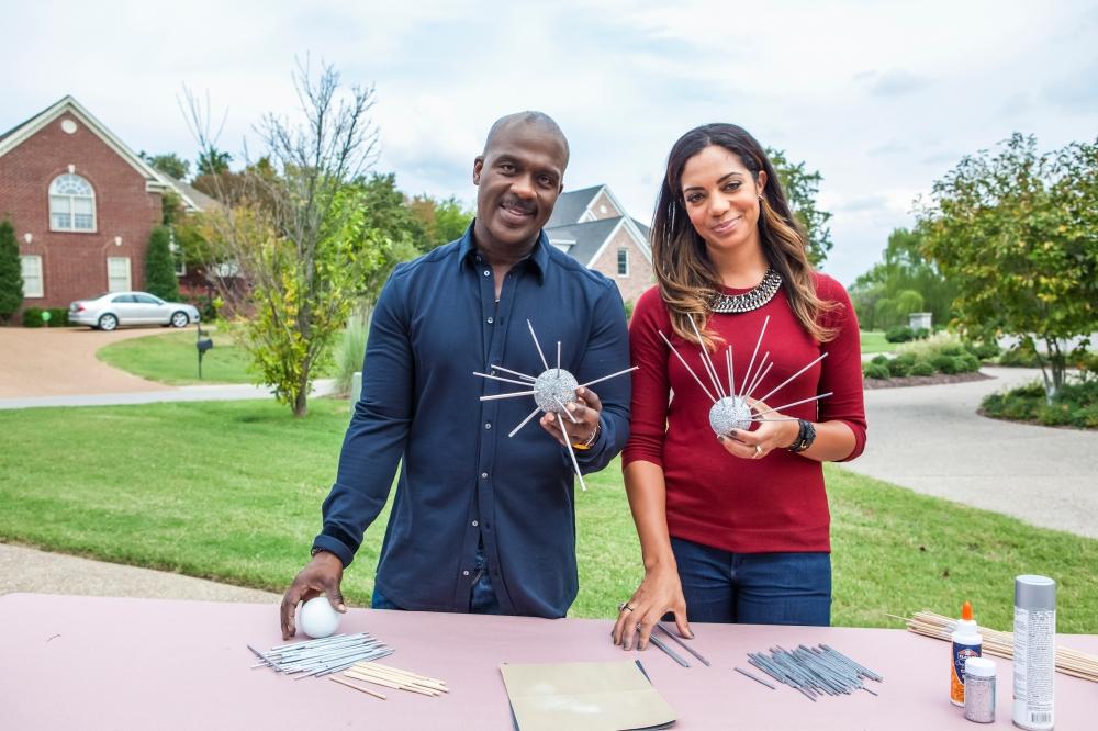 HGTV Design Star Winner Danielle Colding & Gospel Singer Bebe Winans Photo Credit HGTV