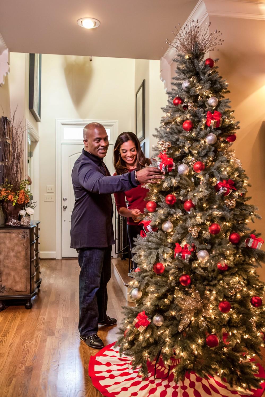 HGTV Design Star Winner Danielle Colding & Gospel Singer Bebe Winans in his home