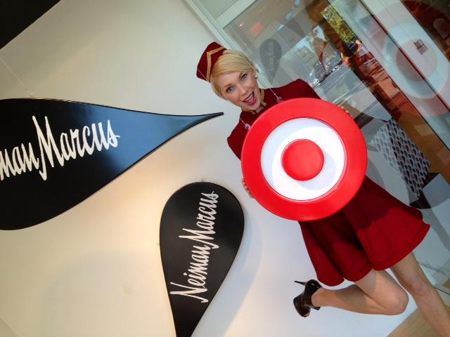 Neiman Marcus Holiday24 Candy Cane Girl At Neiman Marcus Tampa Photo Credit NM