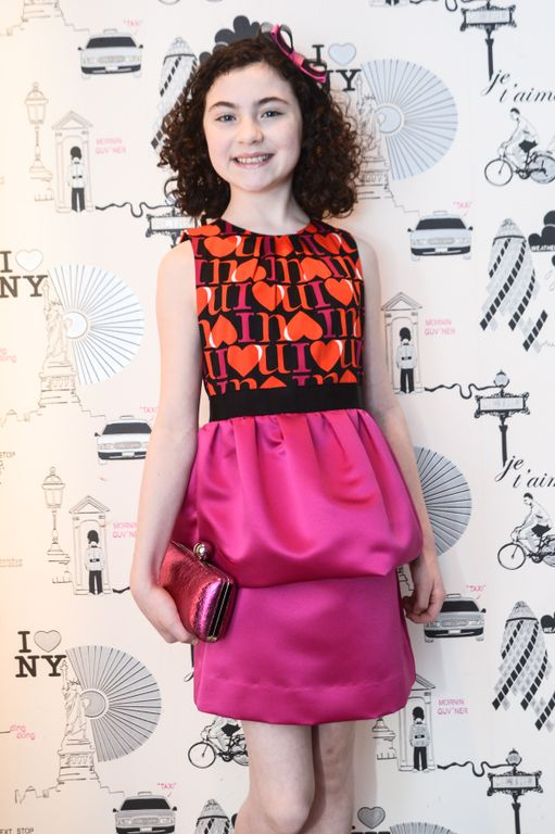 Cast Member from ANNIE the Broadway Musical at Milly Madison Ave Store in NYC Photo Credit BFA