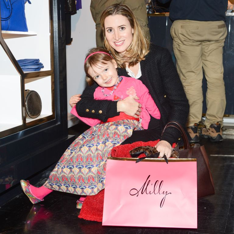 Guest at The Milly Store in NYC Photo Credit BFA