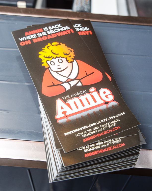 ANNIE The Broadway Musical Event At The Milly Store in NYC Photo Credit BFA