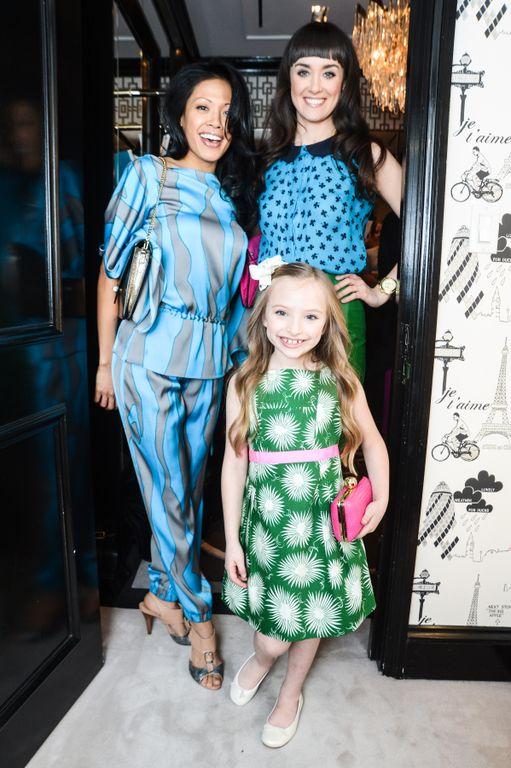 Guest from the ANNIE the Broadway Musical Party at the Milly Madison Ave NYC store Photo Credit BFA