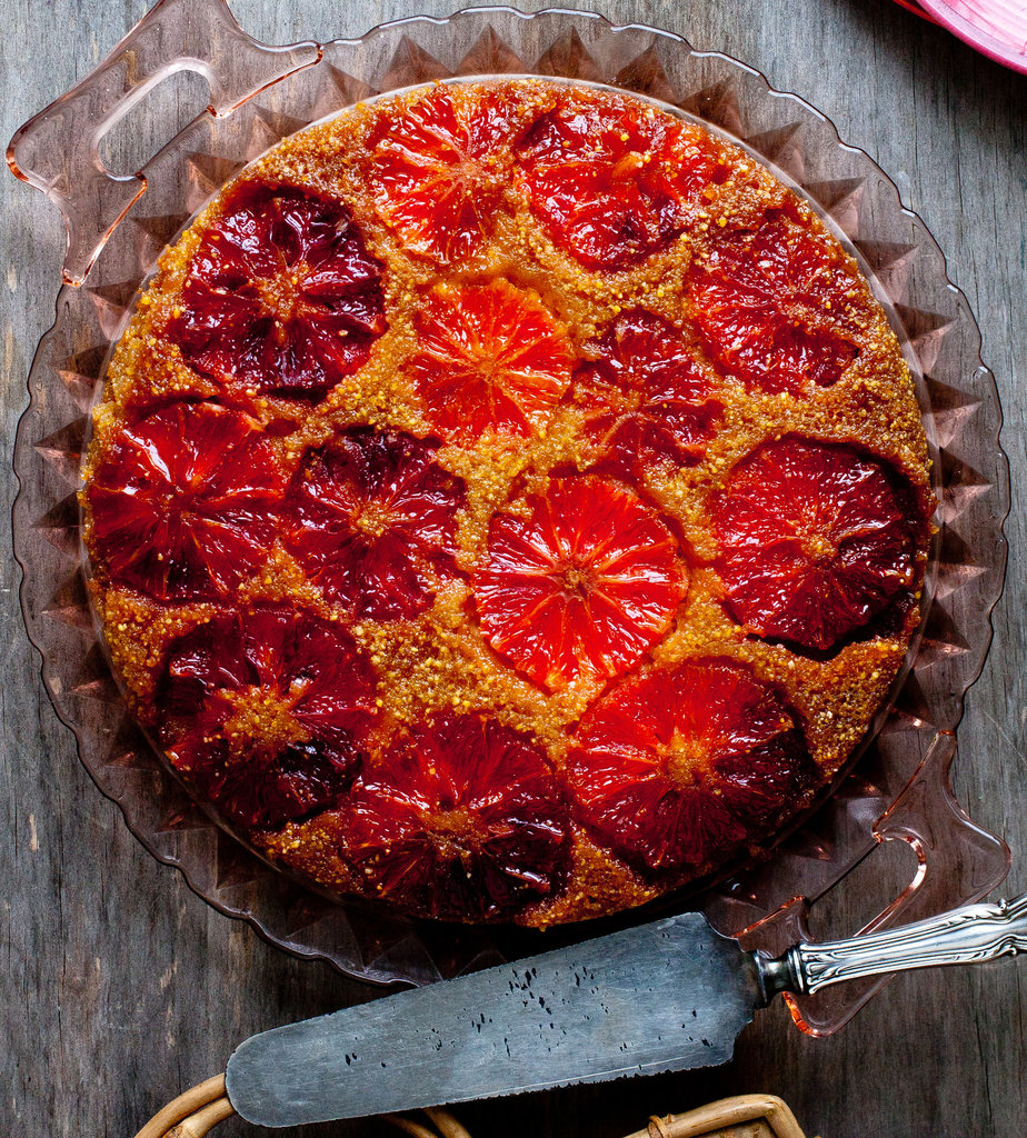 Upside Down Blood Orange Cake Photo Credit NY Times