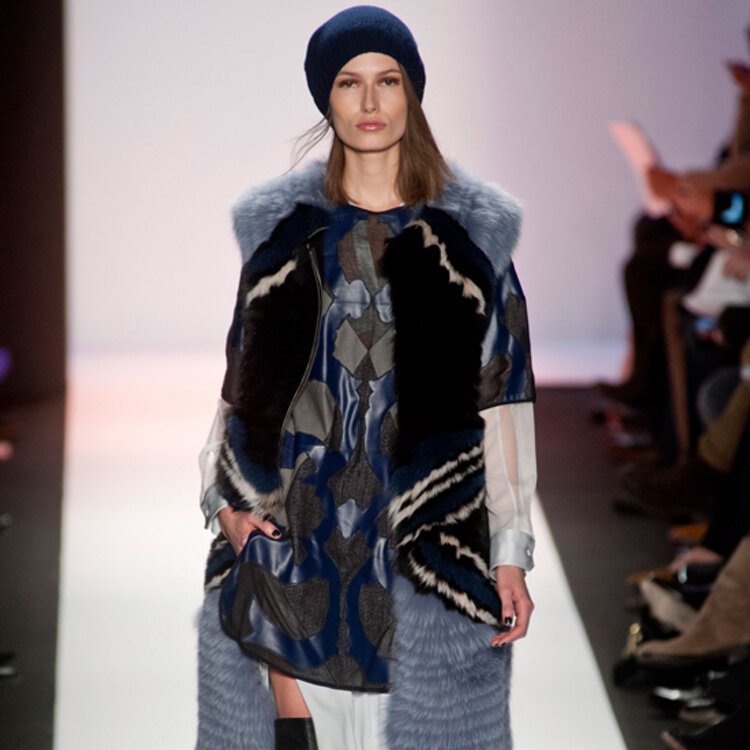 One of my favorite looks from BCBG MAXAZRIA Fall 2013 Show Photo Credit Style.com