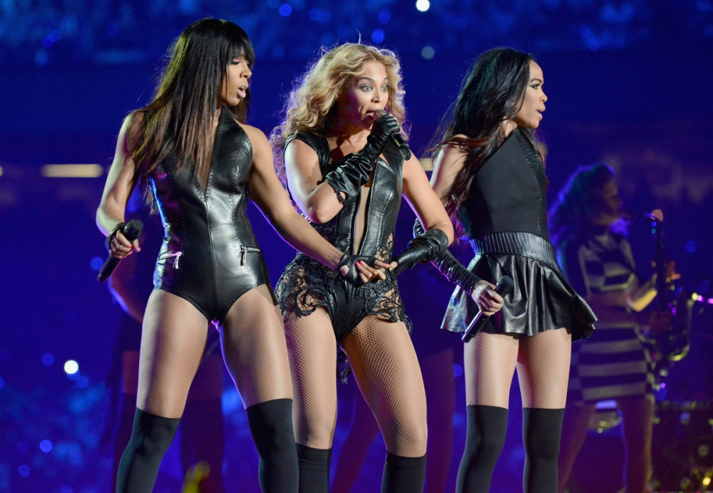Destiny Child at The Super Bowl Photo Credit Jeff Kravitz Film Magic