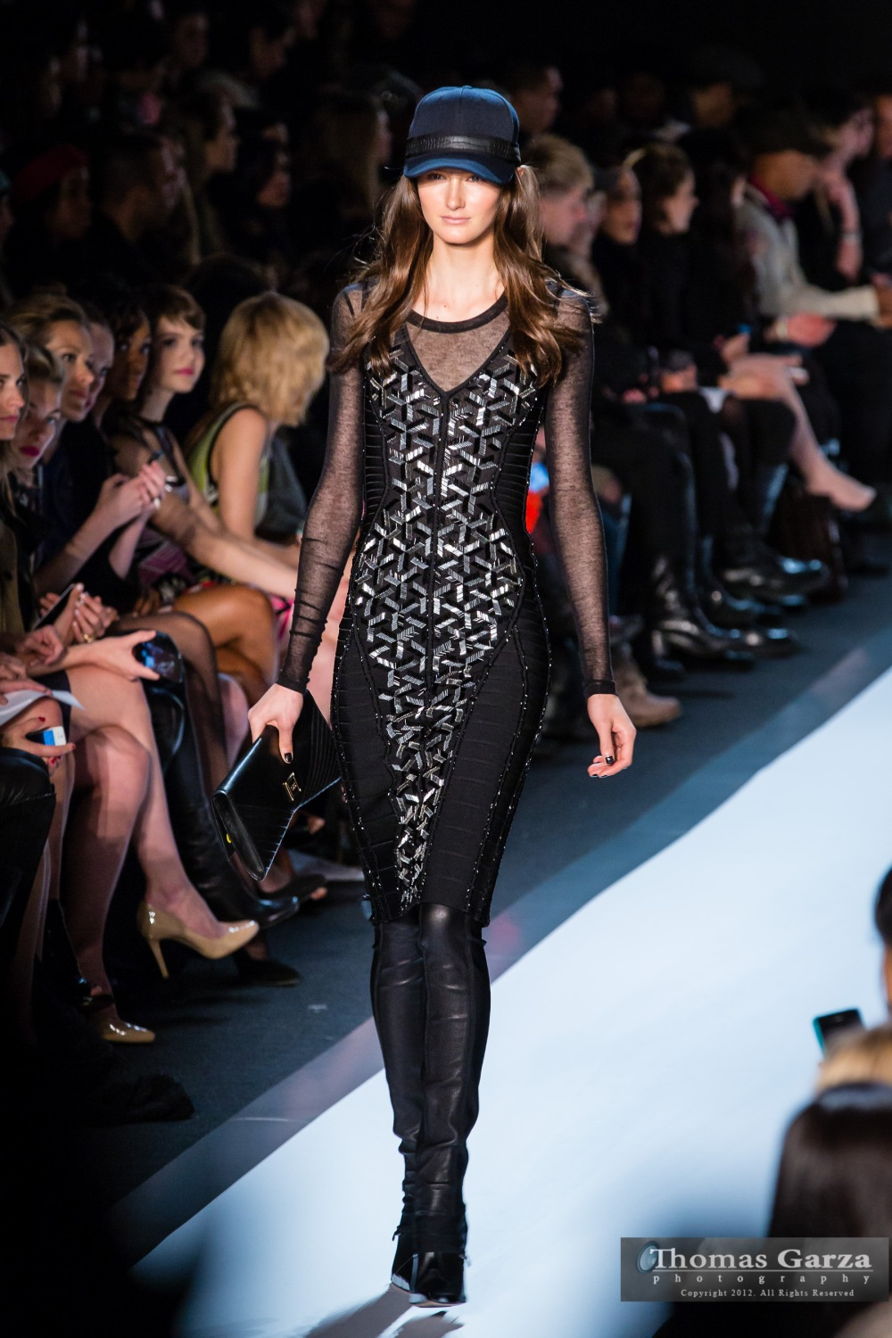 Herve Leger Fall 2013 New York Fashion Week