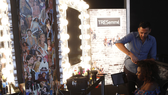 Tresemme Lounge at NYFW