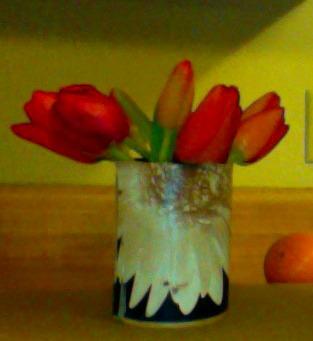 Valentines DIY Floral Arrangement Photo Credit Bites of Style