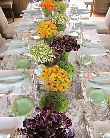 Table Design From Martha Stewart