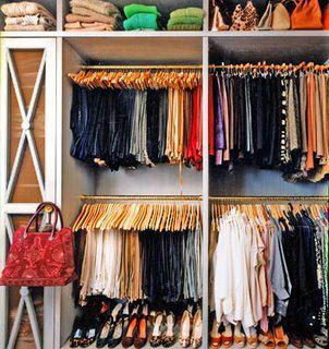 Not my closet, but you get my drift
