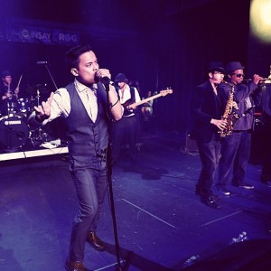 Larry g(EE) performing at SXSW Photo Credit Clark Cabus