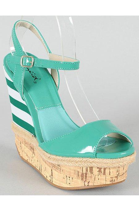 Wedges $46 Elle Bleu