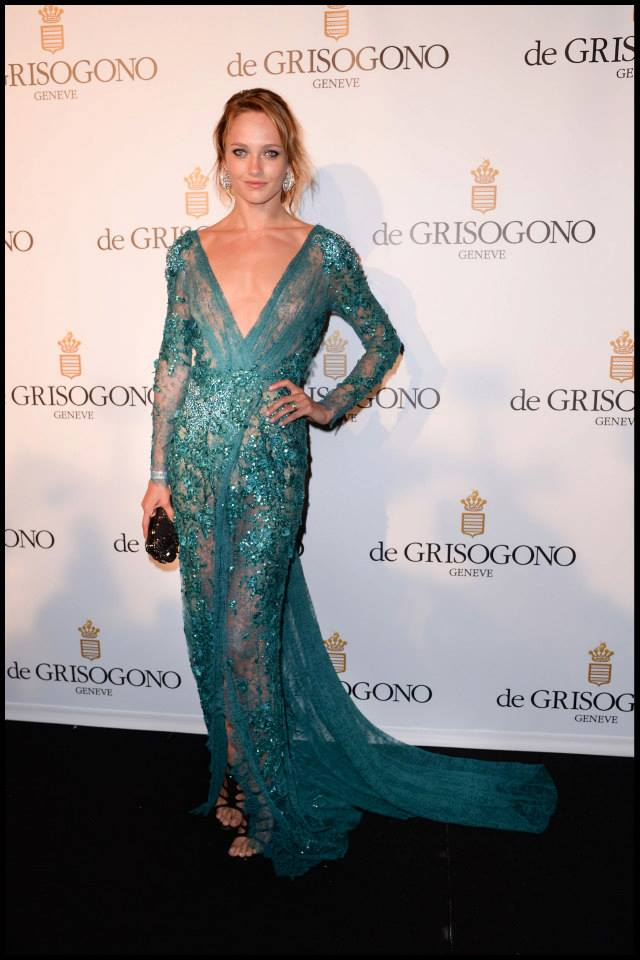 Karmen Pedaru wears ELIE SAAB Haute Couture