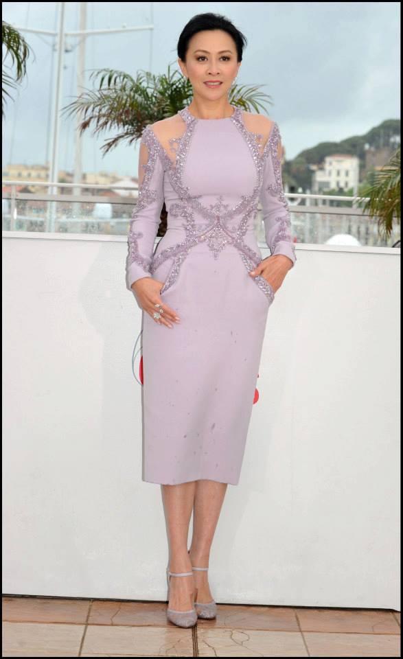 Carina Lau wears ELIE SAAB Haute Couture Spring Summer 2013