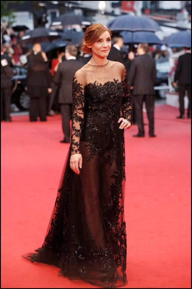 Clotilde Courau wears ELIE SAAB Haute Couture Spring Summer 2013