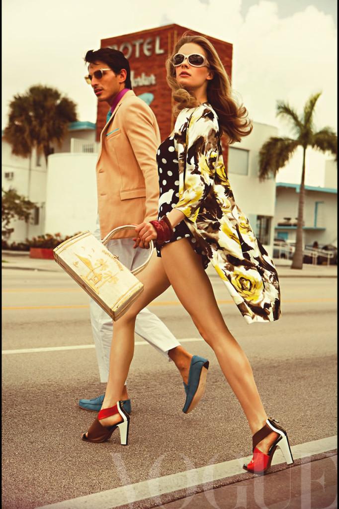 Vintage Vogue Photo via Vogue