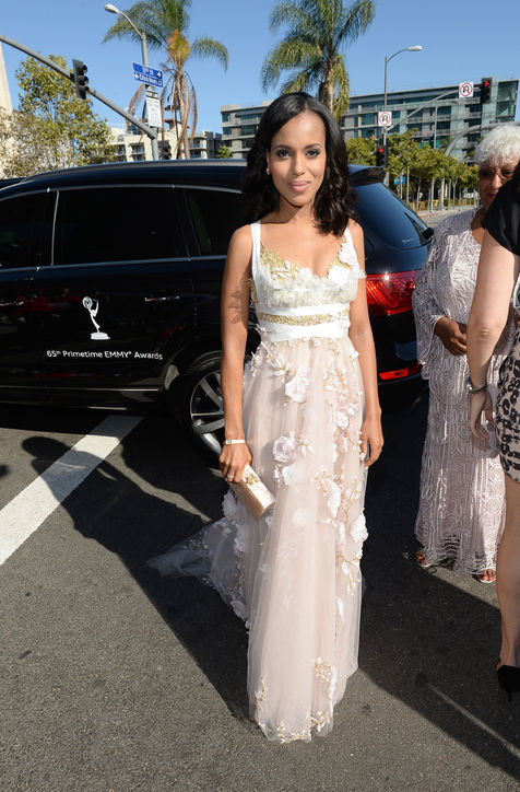 Kerry Washington at The Emmy's ( Photo Credit: Glamour)