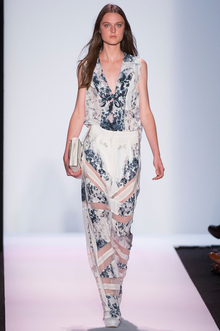 BCBG Max Azria SS14 Collection MBFW ( Photo Credit: Yannis Vlamos via Style.com)