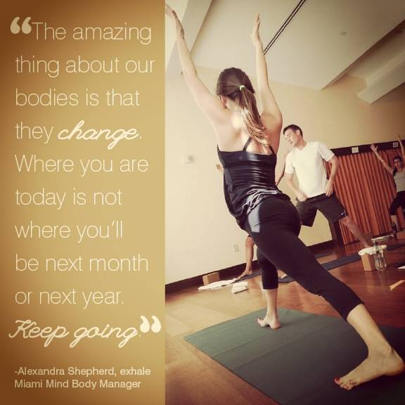 Quote from Exhale Spa ( photo credit: Exhale)