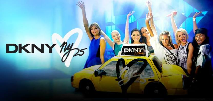 DKNY Celebrates 25 years in NYC ( Photo Credit: DKNY)