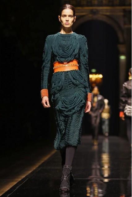 Balmain AW 14:15 Collection Paris Fashion Week Photo: NOWFASHION