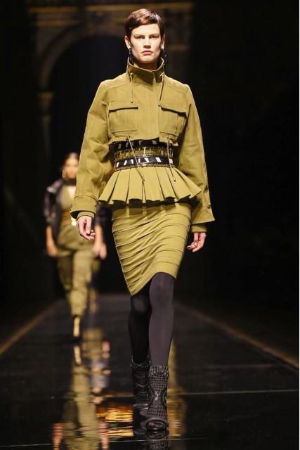 Balmain AW 14-15 Paris Fashion Week  Photo: NOWFASHION