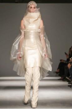 Designer Gareth Pugh  AW 14-15 Collection Photo via Now Fashion