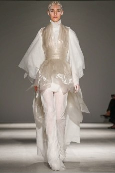 Designer Gareth Pugh  AW 14-15 Collection for Paris Fashion Week ( Photo Credit: Now Fashion)