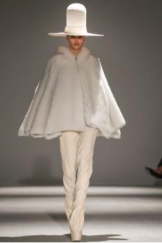 Designer  Gareth Pugh  AW 2014- 2015 Collection for Paris Fashion Week  photo via NowFashion