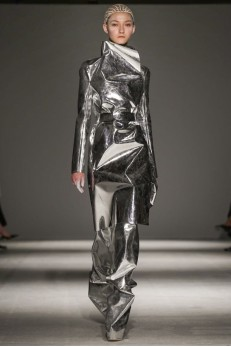 Designer Gareth Pugh  AW 14-15 Collection  Photo via Now Fashion