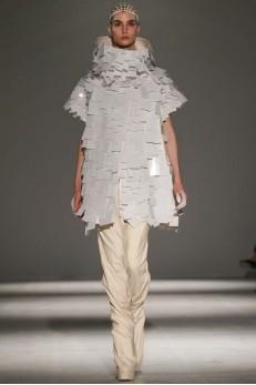 Designer Gareth Pugh  AW 14-15 Collection for Paris Fashion Week ( Photo via Now Fashion )
