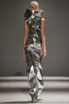 Designer Gareth Pugh  AW 14-15 Collection ( Photo Credit: Now Fashion)