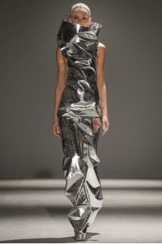 Designer Gareth Pugh  AW 14-15 Collection ( Photo Credit: Now Fashion)