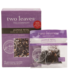Two Leaves Jasmine Green Tea