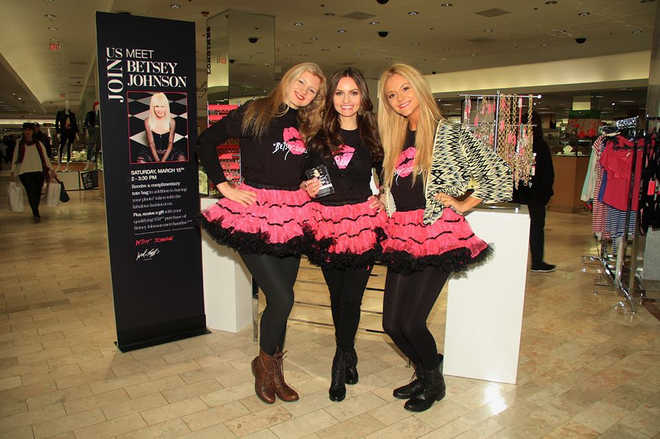 Team Betsey Johnson Rocking Tutu's at Lord in Taylor in New York