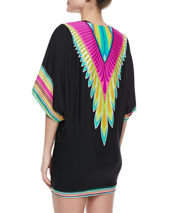 Plumas Coverup by Trina Turk ( Photo via Neiman Marcus)