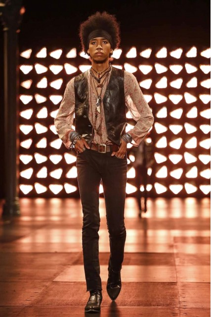 Saint Laurent Mens  SS15 Paris Fashion Week