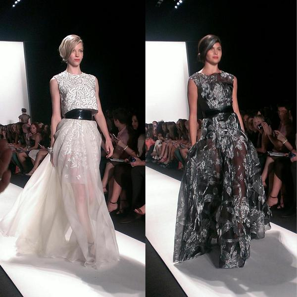 Carmen Marc Valvo SS15 Mercedes-Benz Fashion Week. Photo via NewYorkFashionWeek Mag