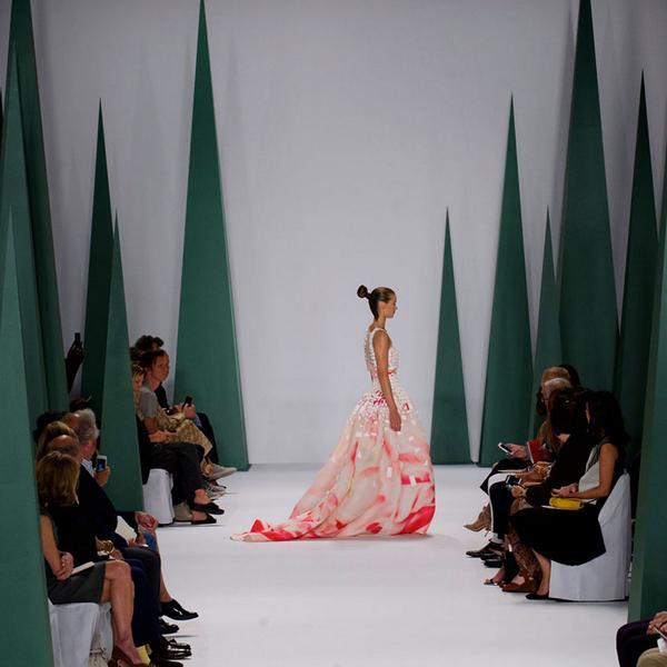 Mercedes-Benz Fashion Week ( photo via Harpers Bazaar (