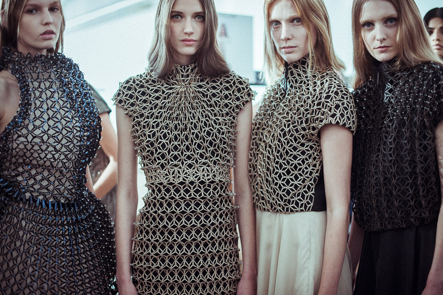 Iris Van Herpen SS15 Paris Fashion Week- Image Vogue UK