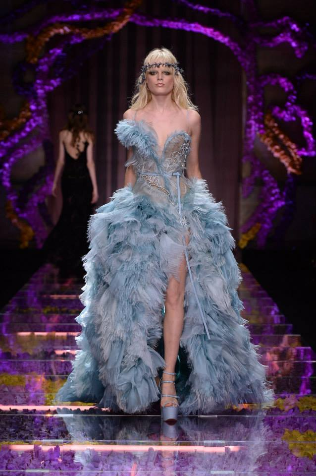 Versace Atelier Haute Couture 2015 in Paris Credit: Versace