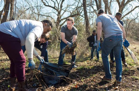 Mark Zuckerberg joins Oak Cliff community, building a garden in Dallas Photo Credit: Mark Zuckerberg